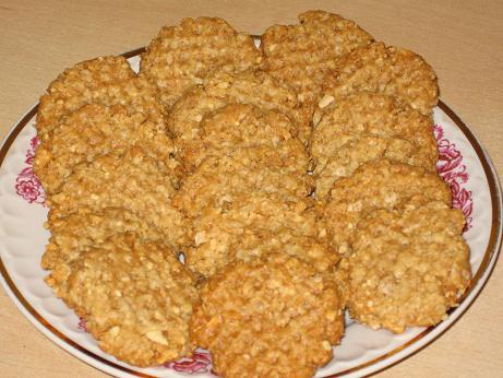 Печенье из овсяных хлопьев с маргарином