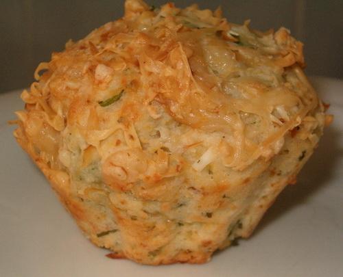 Маффины с сыром и травами
