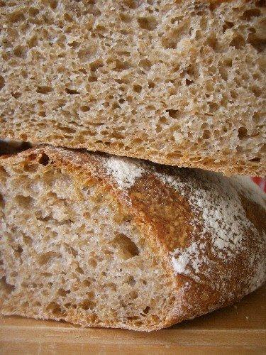 Домашнего ржаного хлеба без дрожжей в духовке