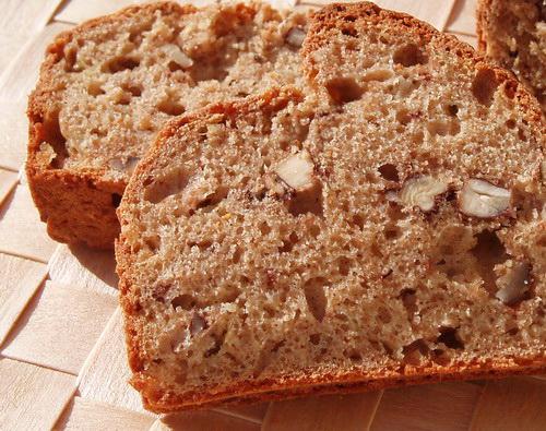 Ломоть ароматного хлеба