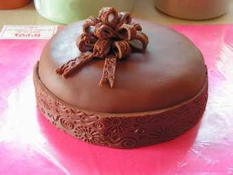 Как сделать шоколадную мастику для торта в
