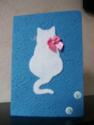 Как сделать открытку для кота