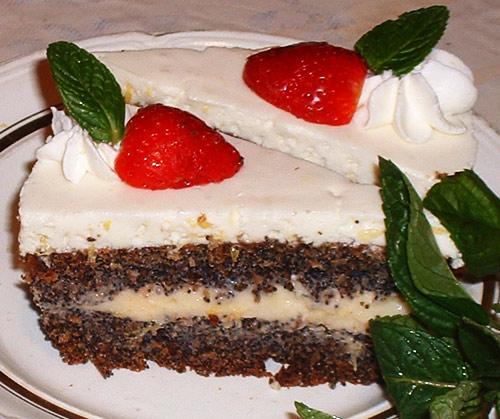 Торт не сложный в приготовлении