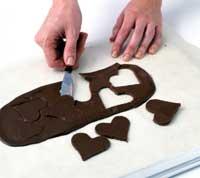 Сердце из шоколада своими руками