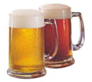 """Напитки на основе пива.  Коктейль  """"Удар копытом """"."""