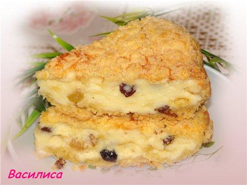 Приготовить пирог из творога быстро и вкусно