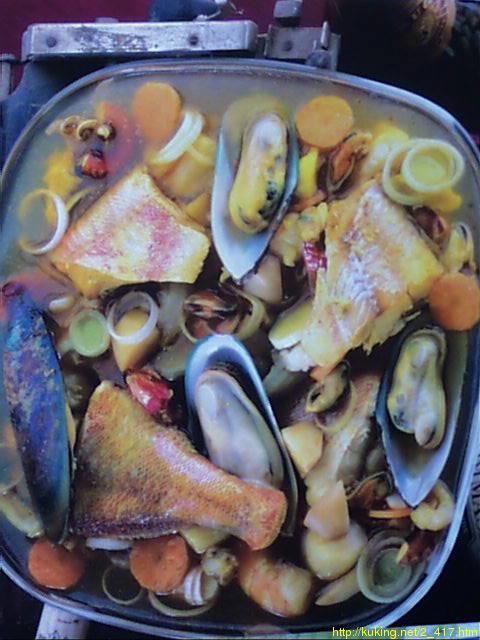 500 гр.коктейля из морепродуктов (продается в замороженном виде) 1 кг...