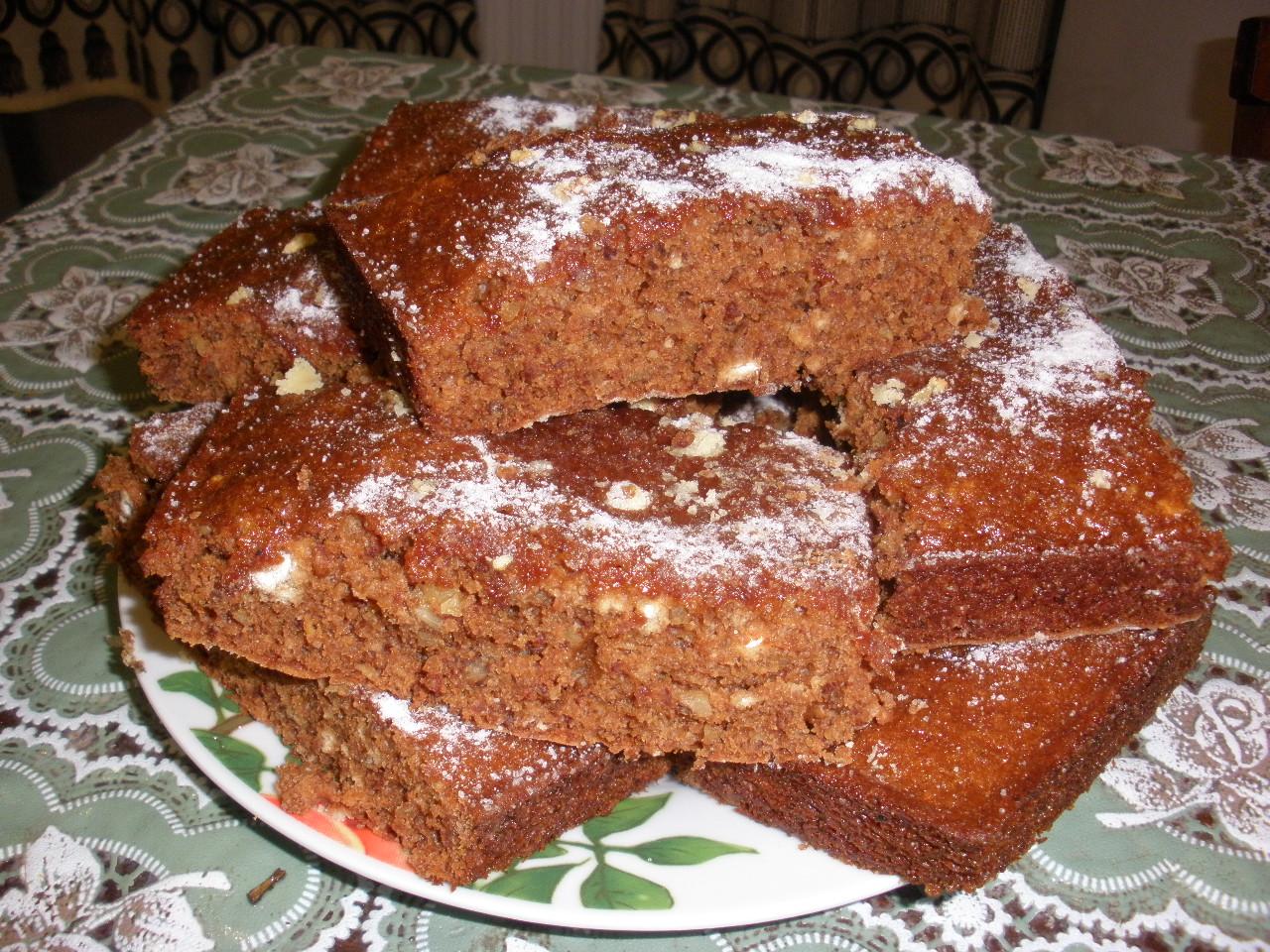 Рецепт пирога с медом