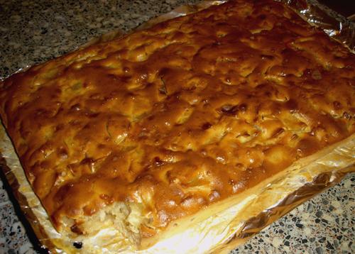 Домашний пирог с яблоками рецепт с фото