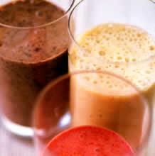 Рецепт Основной фруктово-молочный коктейль.