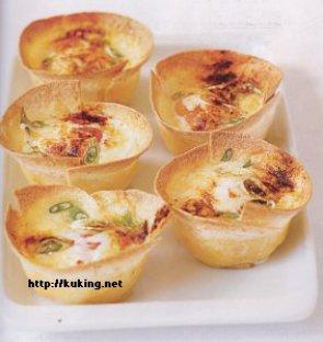 Яйцо в корзиночке – кулинарный рецепт