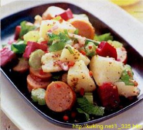 Салат из скумбрии, картофеля и сельдерея – кулинарный рецепт