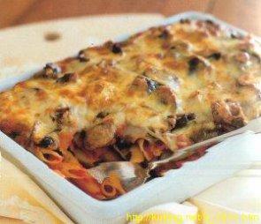 Запеканка из макарон с тыквой и фаршем – кулинарный рецепт