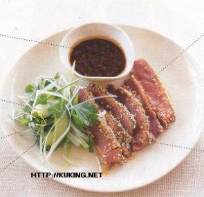 Мясо в кунжутных семечках – кулинарный рецепт