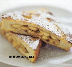 Французский тост с бананами