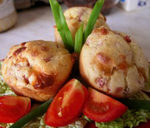 маффины с сыром carina