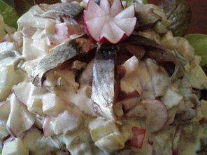 селедка кисло-сладкая с изюмом