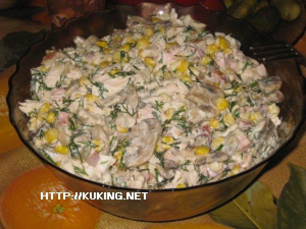 салат арабский рецепт с курицей