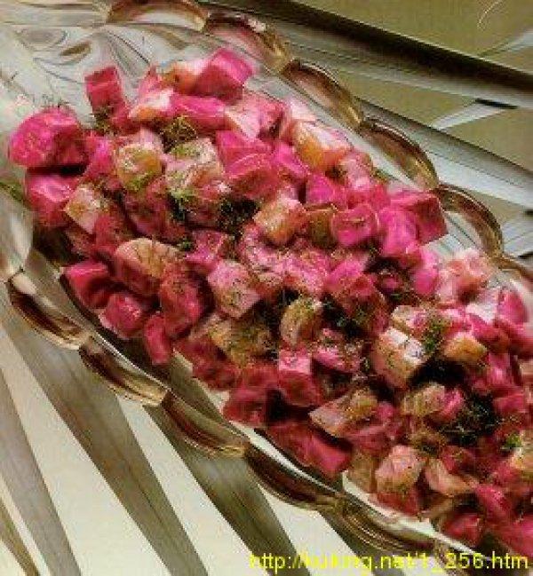 Салат из огурцов и свеклы