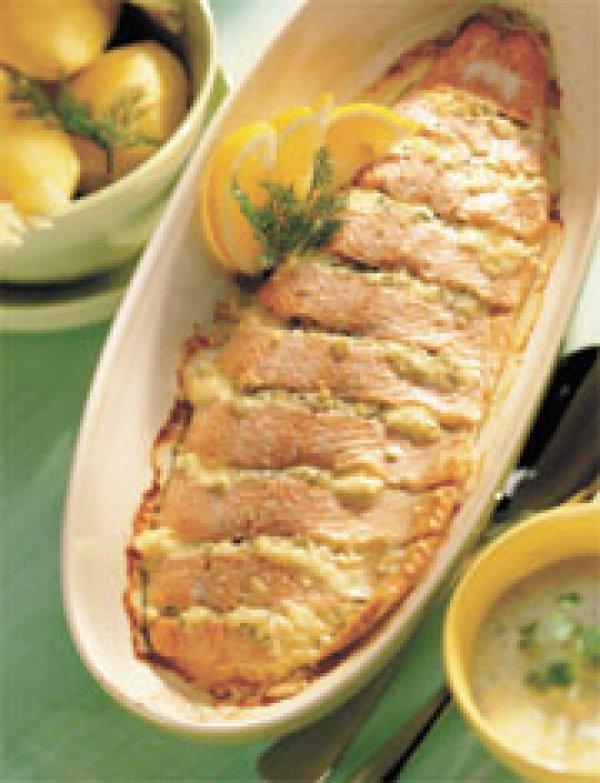 фаршированый лосось