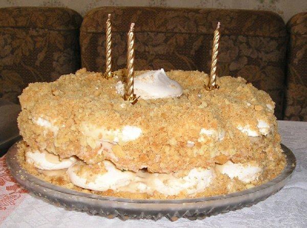 Как сделать торт из меренги