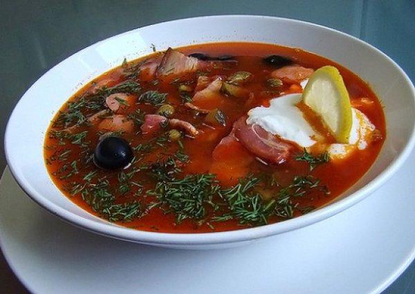 Суп солянка в мультиварке рецепты с фото