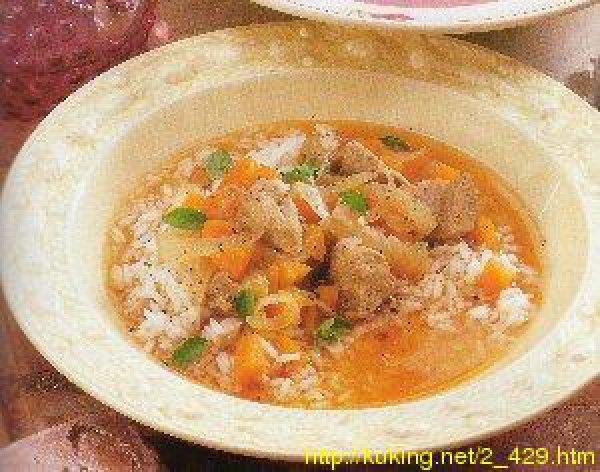 суп со свининой: