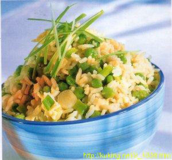 Рецепт рис с яйцом по китайски