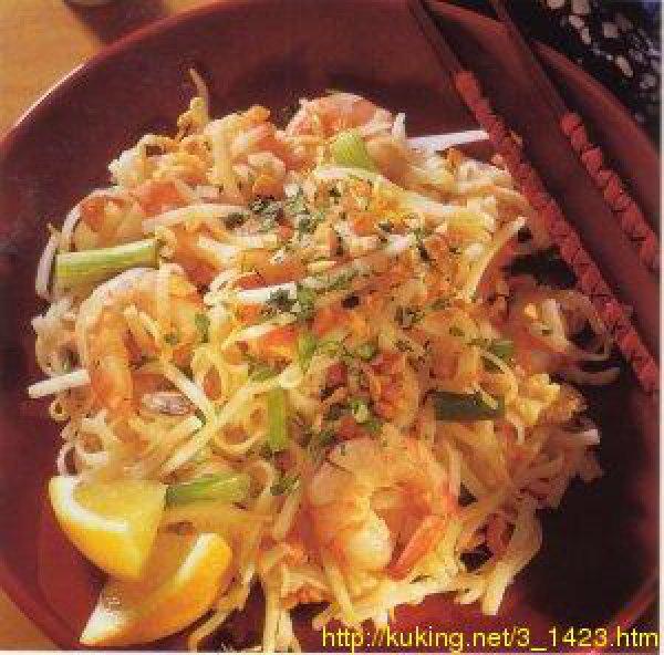 лапша с креветками по-тайски рецепт с фото