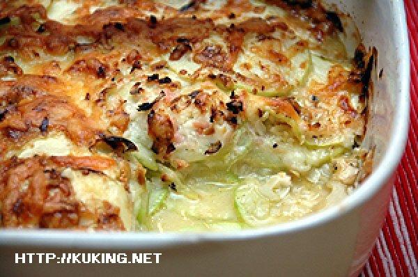 Кабачки запеченные в духовке без сыра и майонеза