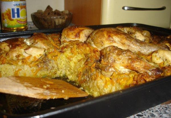 как вкусно запечь картошку в духовке с мясом
