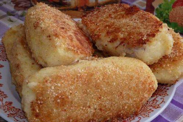 Зразы картофельные с рыбой рецепт