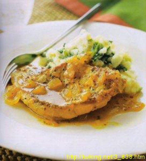Свинина в яблочном соусе рецепт с фото