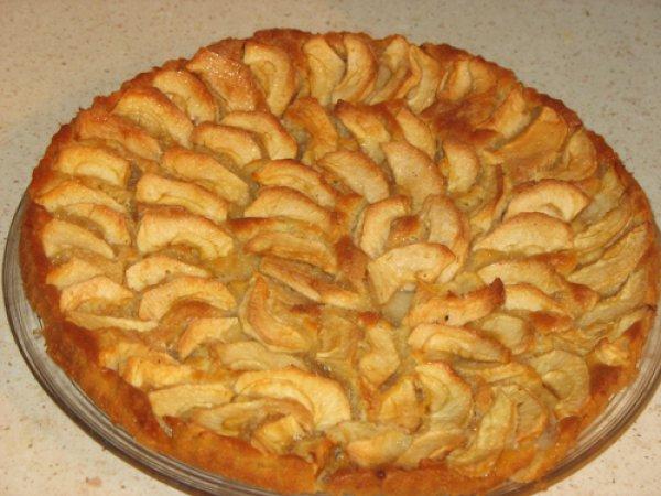 простой рецепт пирог с яблоками рецепт с фото