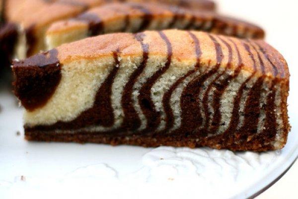 Зебра торт рецепт с фото пошагово простой