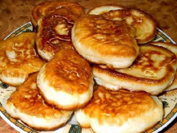 рецепты оладьев на кефире с фото