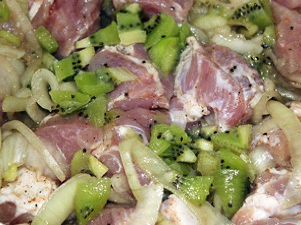 Рецепты шашлыка с киви
