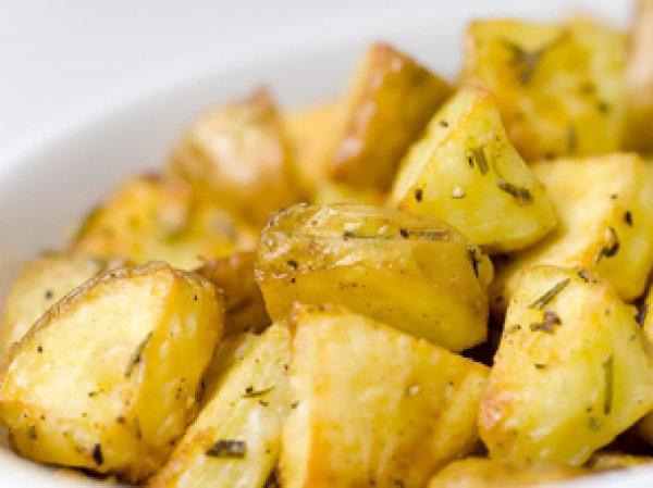 Вкусная картошка в микроволновке