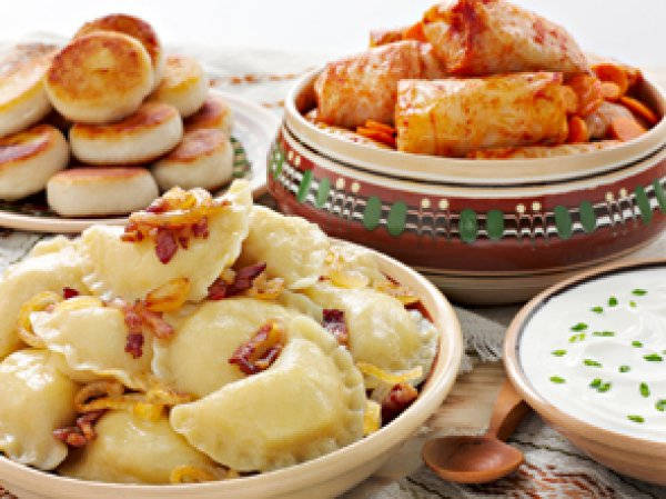 рецепт паляницы украинской с укропом салом