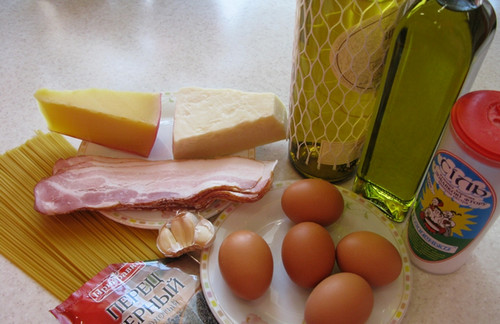 паста карбонара рецепт соус