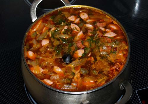 солянка суп рецепт классический с фото